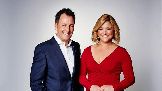 Mike Hosking and Toni Street.