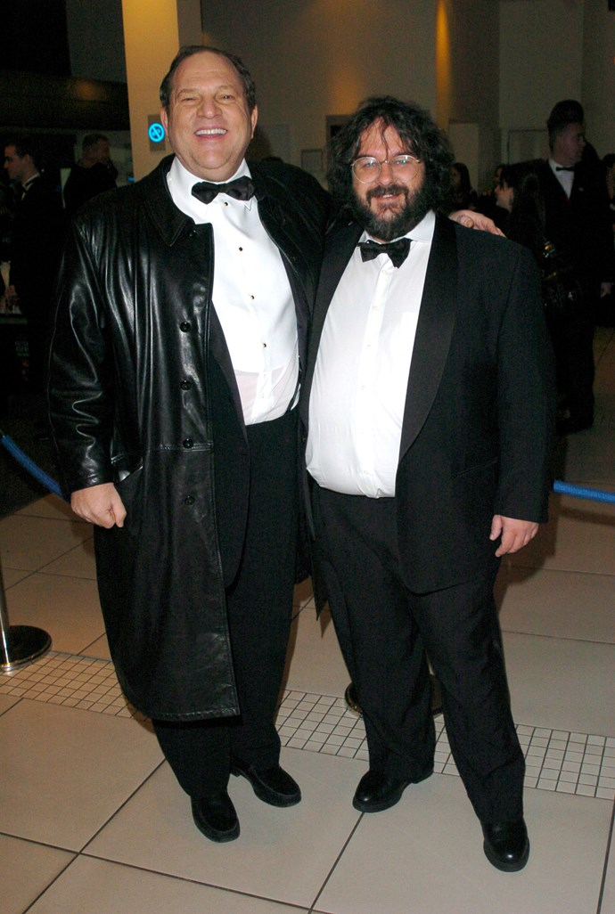Weinstein and Jackson in 2004.