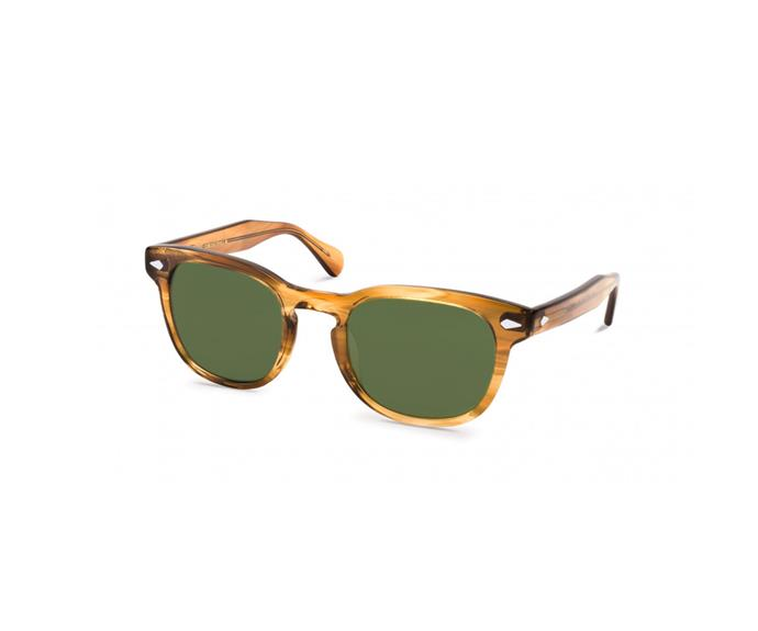 Sunglasses, $290, by [Moscot](https://moscot.com/shop/sun/square/gelt-sun).