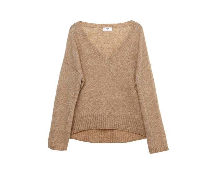 Rika sweater, $498, from [Workshop](http://www.workshop.co.nz/ProductDetail?CategoryId=13&ProductId=25549&Colour=Camel).