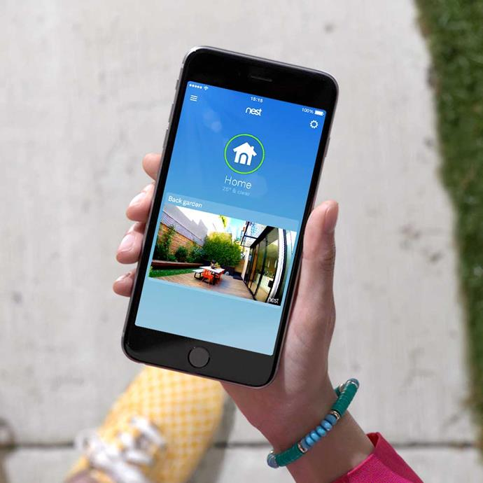 Be notified. Has someone visited the property? Did the neighbour remember to feed the cat? It's easy to check using the Nest app.