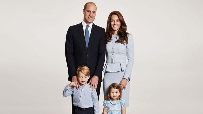 royal portrait prince george princess charlotte
