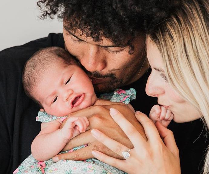 Ardie Savea baby