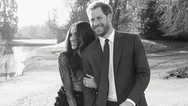 Prince Harry and Meghan Markle's official engagement photos have been released