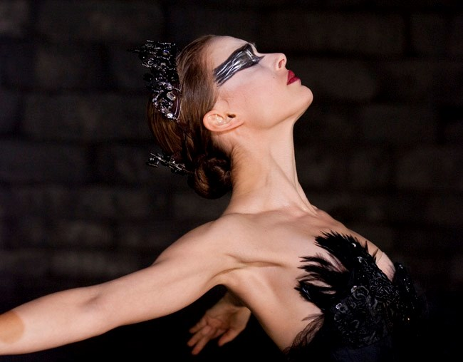 Natalie Portman's performance as a ballerina in *Black Swan* won her the Best Actress - Drama Golden Globe as well as the Best Actress Oscar in 2010.