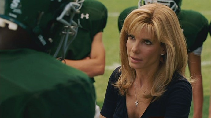 In 2009, Sandra Bullock took out both the Best Actress - Drama Golden Globe and the Best Actress Oscar for her role in *The Blind Side*.