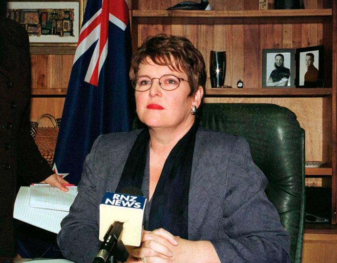 Jenny Shipley as prime minister.