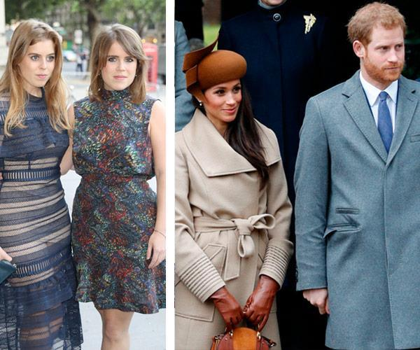 Eugenie and Beatrice don't consider Meghan worthy of royal privilege.