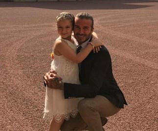 David Beckham sparks safety concerns for daughter Harper