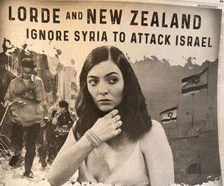 Lorde labelled a 'bigot' in controversial ad