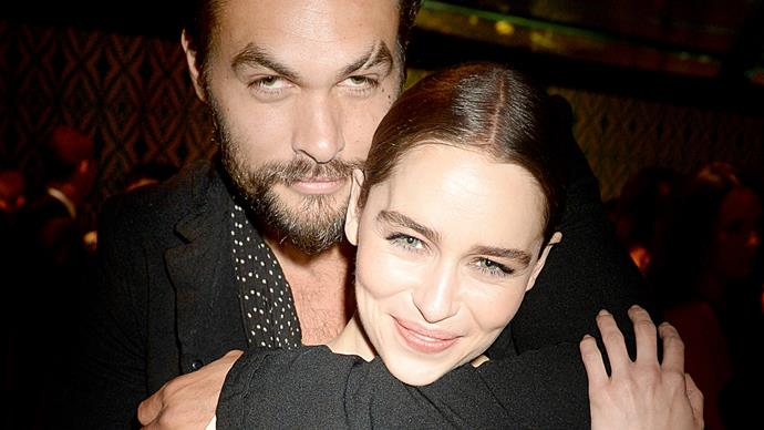 The adorable bond between Game of Thrones stars Jason Momoa and Emilia Clarke