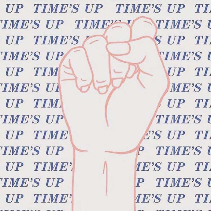 """...after posting this image on Instagram with the caption """"#timesup"""""""