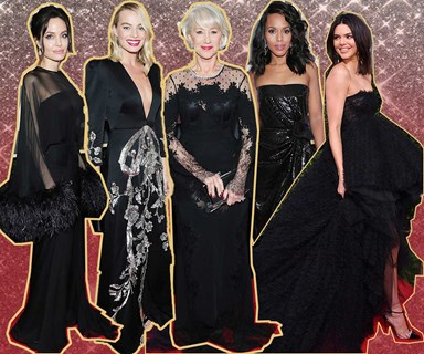 All the glamour from the 75th Golden Globes Awards' red carpet