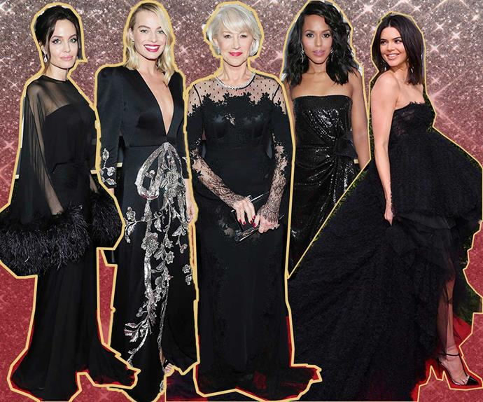 The 75th Golden Globes Awards' red carpet