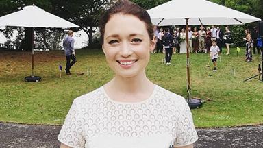 Antonia Prebble has become a marriage celebrant