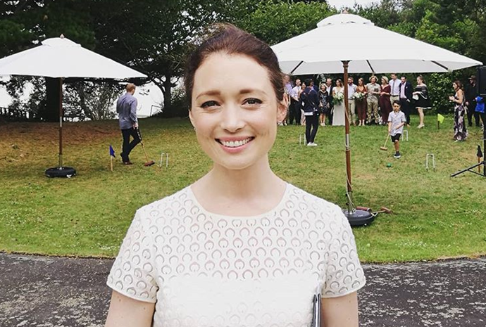 Antonia Prebble has become a marriage celebrant