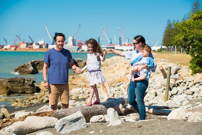 Moving to Napier meant Stuart and Sarah could expand their family, and they say they've been made to feel very welcome by their neighbours.