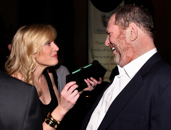 Kate Winslet and Harvey Weinstein in 2009