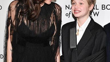 Angelina Jolie's adorable date night with Shiloh and Zahara Jolie-Pitt