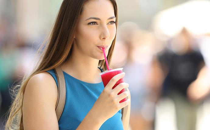 You'll be surprised just how much sugar is in your slushie