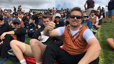 Man catches ball at cricket game and claims $50,000