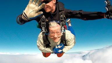 The 101 year old skydiving great-grandma