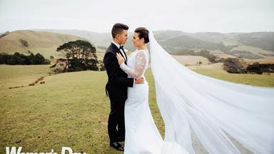 ZM host Megan Sellers' wedding day tears
