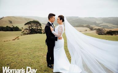 ZM host Megan Sellers' wedding day tears