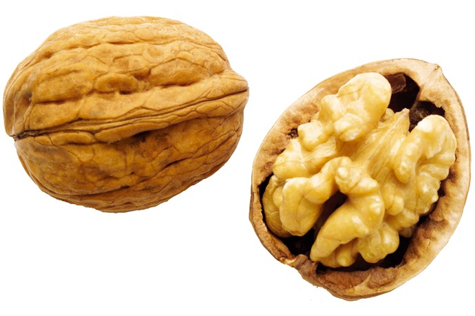 **30g walnuts**                                                                                                                                                                                         A good source of protein and fibre, walnuts also contain magnesium, making them a go-to energy bite.