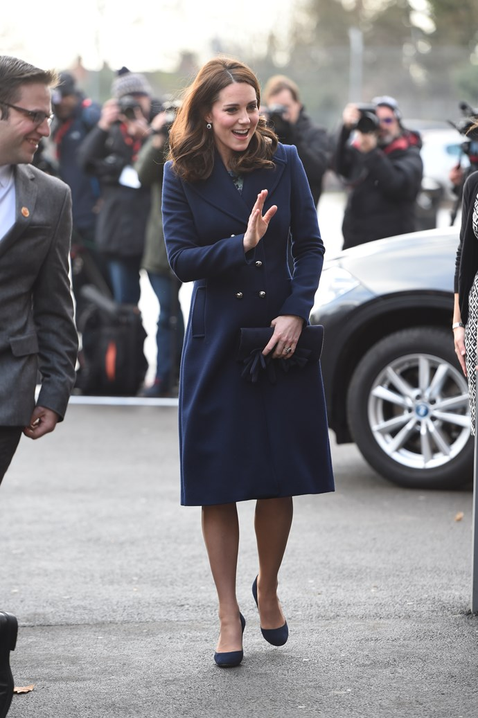 The Duchess of Cambridge is a seasoned pro when it comes to maternity fashion.
