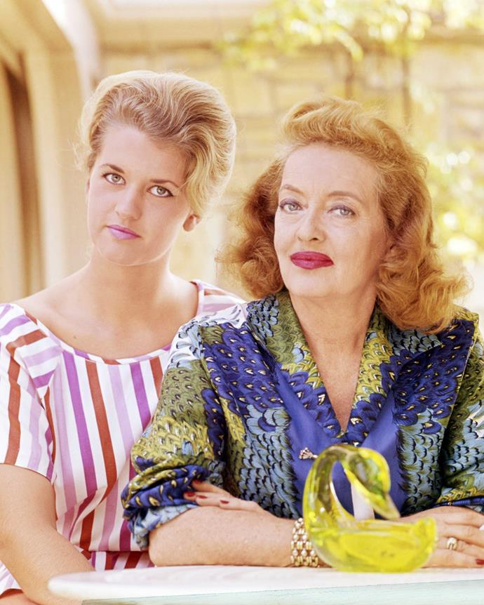 "Bette and her daughter Barbara in the mid-1960s.  Barbara's ""betrayal"" broke Bette's heart, Kathryn says."