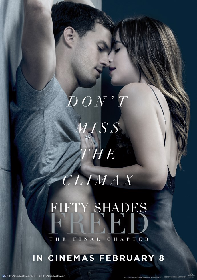 Be in to win a double pass the screening of Fifty Shades Freed!