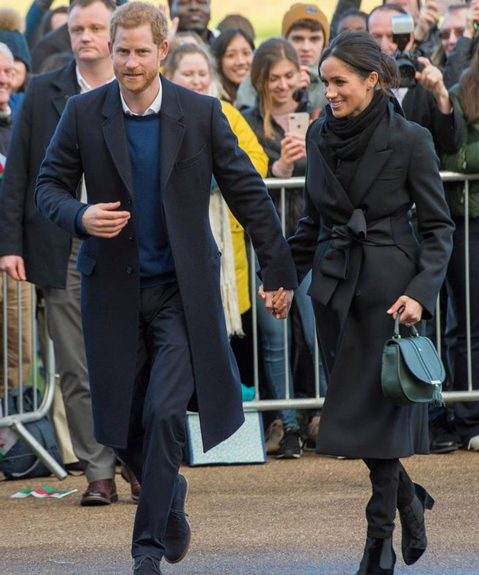 Following in Margaret's footsteps, the Duchess of Cambridge and Meghan Markle (pictured) are now the 'royal celebrities'.