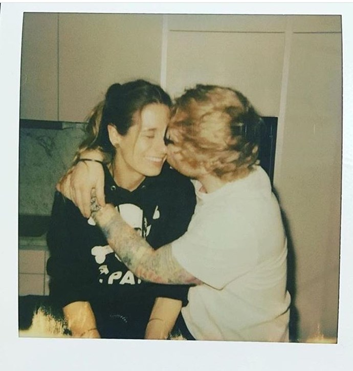 Ed Sheeran is engaged to long-time girlfriend
