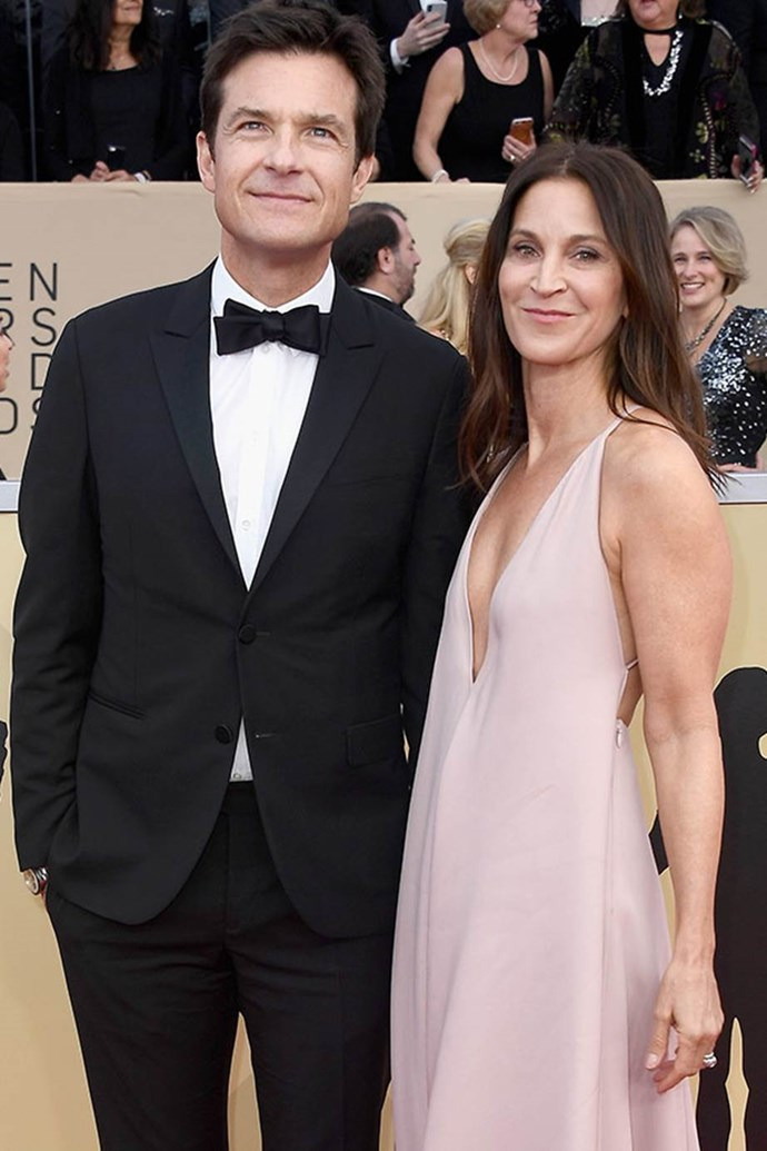 Jason Bateman and Amanda Anka are ready for a date night out.