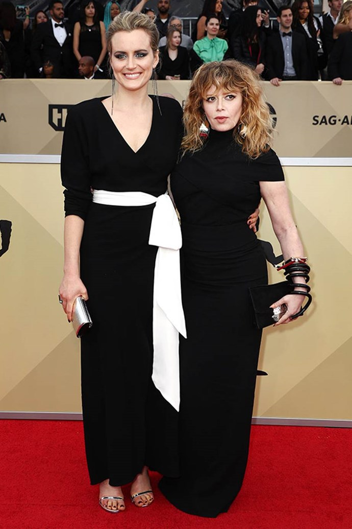 *Orange is the new Black* co-stars Taylor Schilling and Natasha Lyonne are BFF goals.
