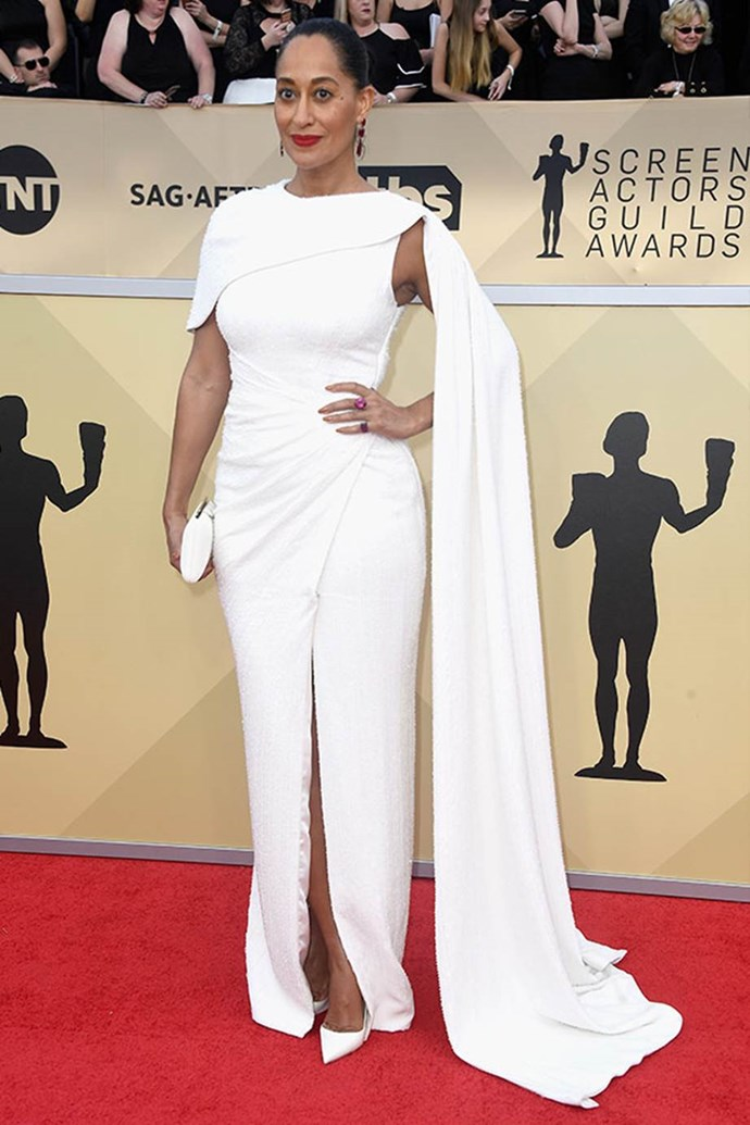 *Black-ish* hero Tracee Ellis Ross is nominated for the Outstanding Performance by an Ensemble in a Comedy Serie award.
