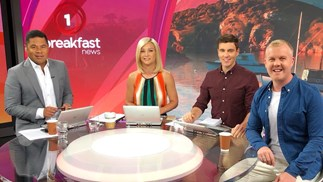 "Hayley Holt's Breakfast show debut ""excitement"" mixed with ""terror"""