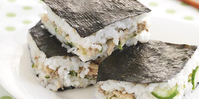Sushi slice