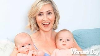 800 Words actress Renee Lyons' miracle twins