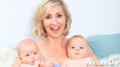 800 Words actress Renee Lyons' miracle twins