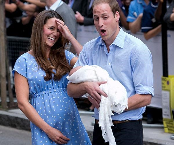 Fans across the world loved the fact that Kate showed off her bump after giving birth to her son.