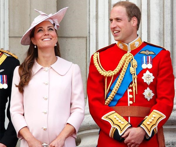 Kate glowed at Trooping.
