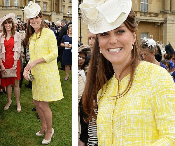 She brightened up a Buckingham Palace garden party on May 22, 2013.