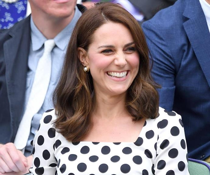 The shorter style looks fantastic! Kate always changes her hair before she announces a pregnancy.