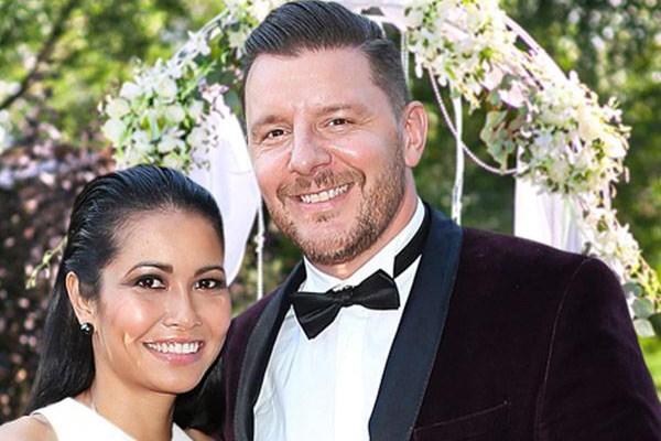 MKR judge Manu Feildel has married Clarissa Weerasena
