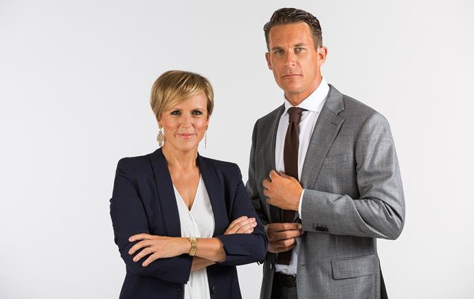 Hilary Barry and Jeremy Wells are the new co-hosts of Seven Sharp