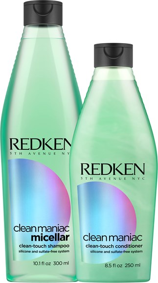 Win Redken Clean Maniac Shampoo and Conditioner!