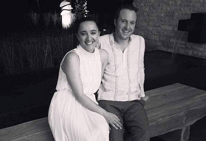Keisha Castle-Hughes and partner Jimmy Uddo