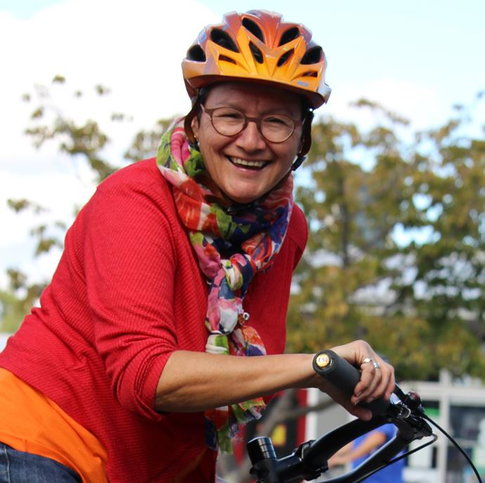 Marilyn Northcotte has been involved in training and consulting for Kiwi cyclists for more than 20 years. Marilyn won the Outstanding Contribution to a Bike Friendly Future category at the Bike to the Future Awards in 2017, and judges credited her with being one of the go-to cycling experts in Wellington and beyond.